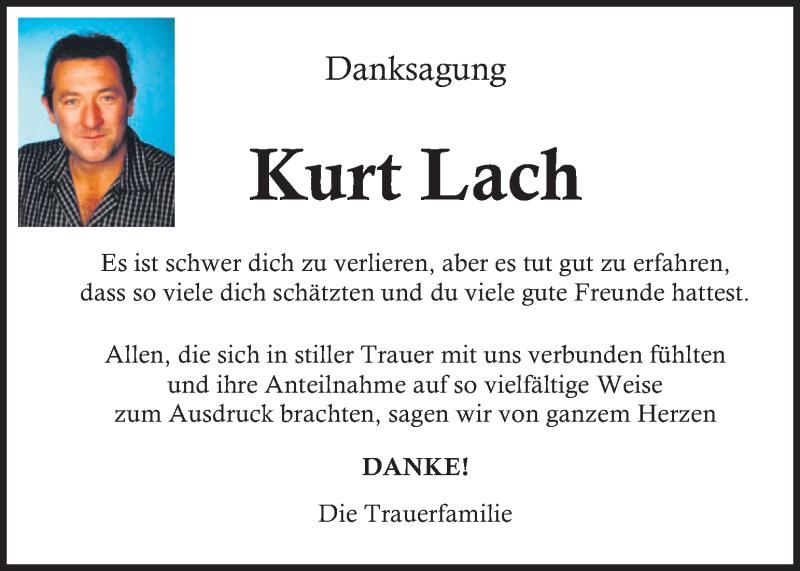 Traueranzeige für Kurt Lach vom 16.04.2021 aus Kleine Zeitung
